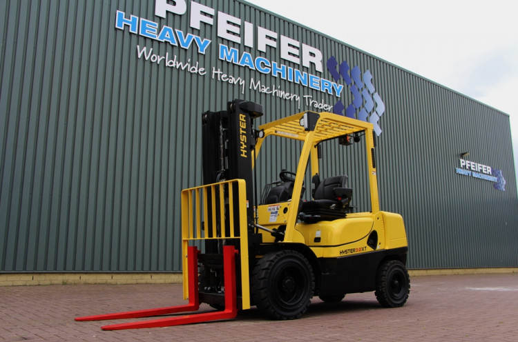 HYSTER H3 0XT   Forklifts   PHM-Id 10515